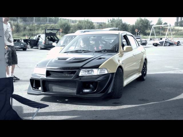 631 bhp Time Attack EVO - Shakedown