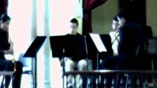 three penny, balada de la buena vida de Kurt Weill por cuarteto del Conservatorio del Tolima