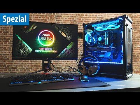 Der absolute RGB-OVERKILL | PC-Build + Peripherie mit Asus Aura