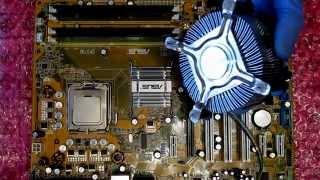 Как правильно нанести термопасту на процессор___How correctly apply the thermal grease on CPU(Перед нанесением, следует хорошо обезжирить поверхность спиртом. Пасту следует наносить тонким слоем,..., 2015-10-19T19:49:58.000Z)
