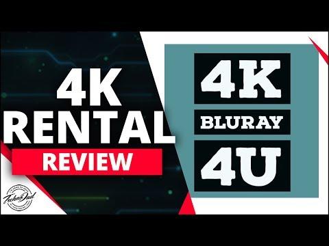 4K Blu-Ray 4U Review | 4k Blu-Ray Rental Service