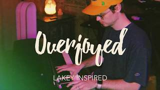 Cover images LAKEY INSPIRED - Overjoyed