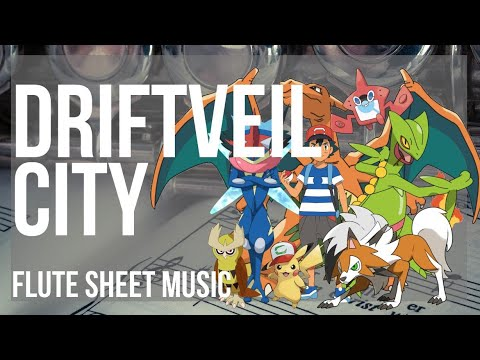 Flute Sheet Music How To Play Driftveil City Pokemon By Hitomi Sato Youtube Not available for purchase in japan (why?) flute sheet music how to play driftveil city pokemon by hitomi sato