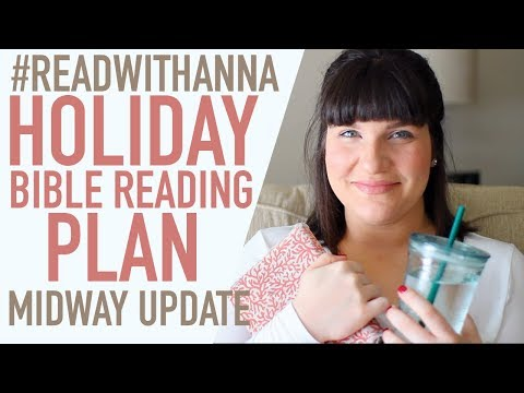 #READWITHANNA Holiday Reading Plan 2017 Midway Update!