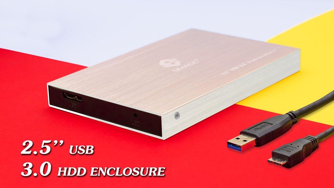25 Smacc Sata External Case Hard Disk Enclosure Hindi Pouch Harddisk