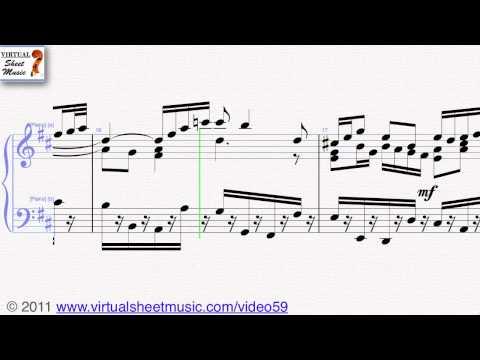 Johann Sebastian Bachs Air from Suite No 3 on the G string sheet music   Score