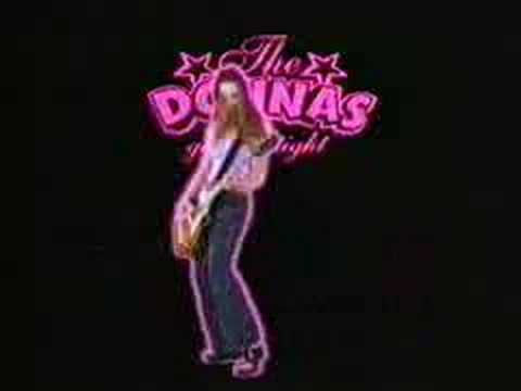 """The Donnas - """"Skintight"""" Lookout! Records"""