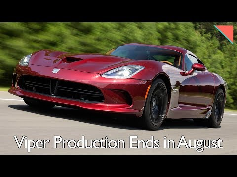 Viper Ends in August, JLR Teams w/ Gorillaz - Autoline Daily 2133