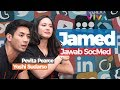 Jawab 25 Pertanyaan Kocak Netizen, Pevita Pearce & Yoshi Sudarso Ngegemesin!