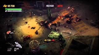Dead Nation gameplay - PS3
