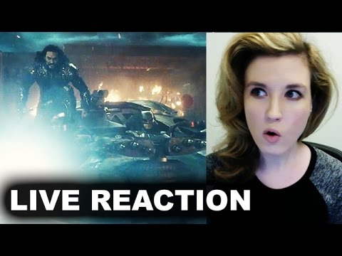 Justice League Trailer REACTION