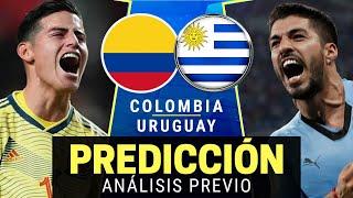 🌎 COLOMBIA vs URUGUAY - Eliminatorias Sudamericanas Qatar 2022 - Previa y Predicción [En Vivo]