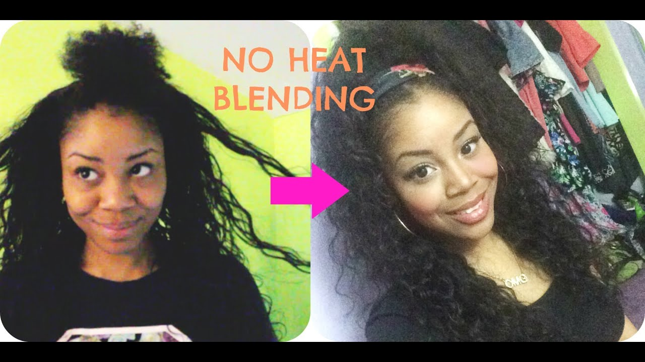 Two ways to blend natural hair with weave using no heat youtube two ways to blend natural hair with weave using no heat pmusecretfo Gallery