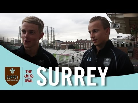 "Sam and Tom Curran - "" Proud to open the bowling together"""