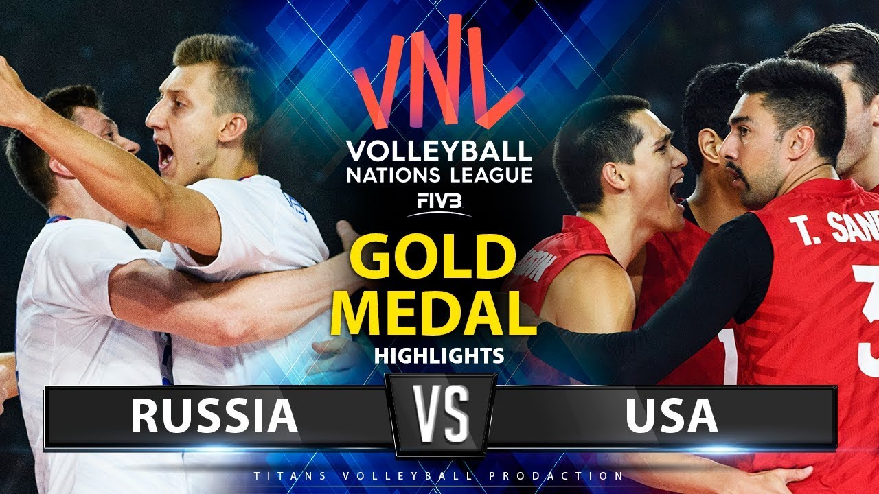 Download Russia vs USA  | Gold Medal Match | Highlights | Men's VNL 2019