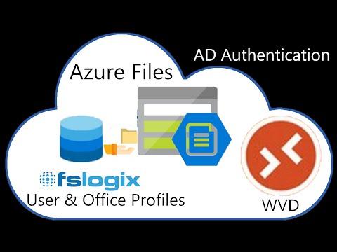 AzureFiles AD Auth & FSLogix | Windows Virtual Desktop - #02