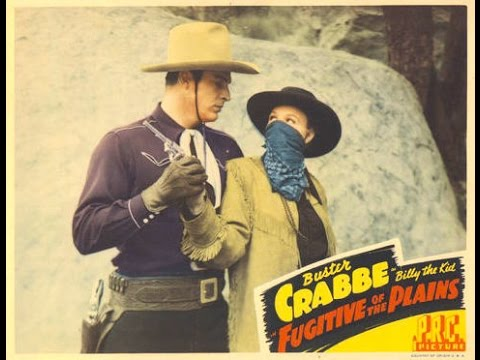 Fugitive of the Plains full length western movie Buster Crabbe