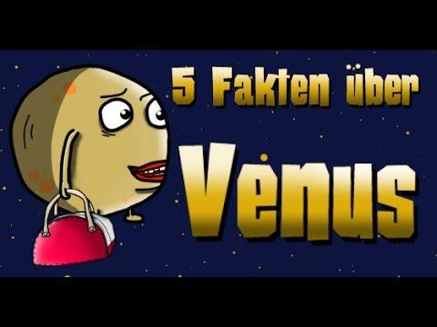 Astro Comics - 5 Fakten über Venus