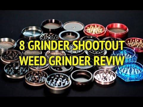 8 Grinder Shootout Intro [Weed Cannabis Marijuana Grinder Review] Mp3