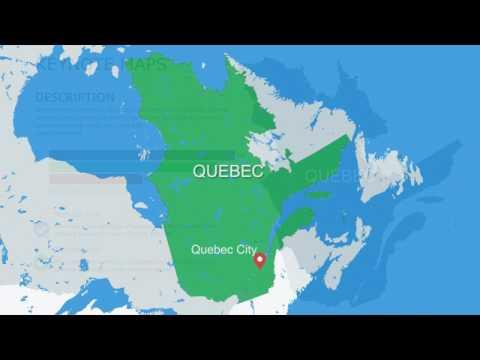 Quebec Canada Keynote Maps