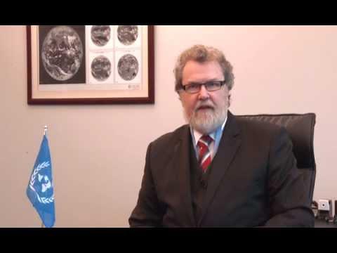 David Grimes; President, World Meteorological Organization.
