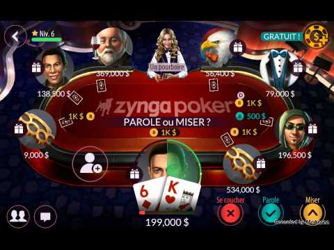 Comment gagner un max de jetons a zynga poker