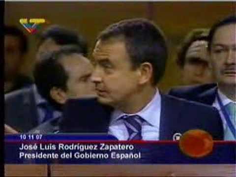 Cómo se inicio el conflicto entre Chavez y el rey español