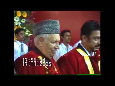 Dr.B.S.Abdur Rahman &  Dr.Kamal Hassan-Doctorate Conferral