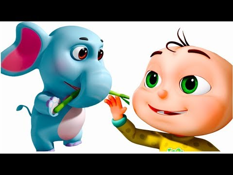 Thumbnail: Five Little Babies In a Jungle Safari | Original Learning Videos | Learn Wild Animals | Kids Songs