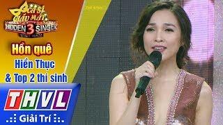 THVL | Ca sĩ giấu mặt 2017- Tập 12[4]: Hồn quê - Hiền Thục & Top 2 thí sinh