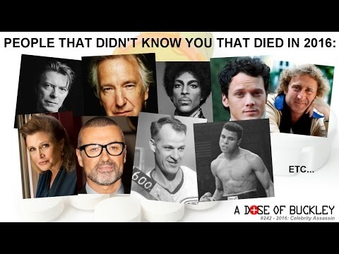 2016: Celebrity Assassin - A Dose of Buckley