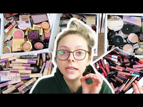 DECLUTTERING MY MAKEUP COLLECTION AND MAKEUP ROOM