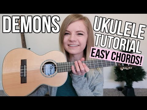 Demons - Imagine Dragons | EASY UKULELE TUTORIAL