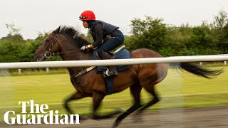 Khadijah Mellah: the first jockey to wear a hijab on a British racecourse