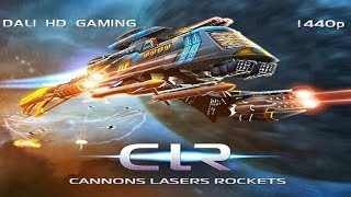 Cannons Lasers Rockets PC Gameplay FullHD 1440p