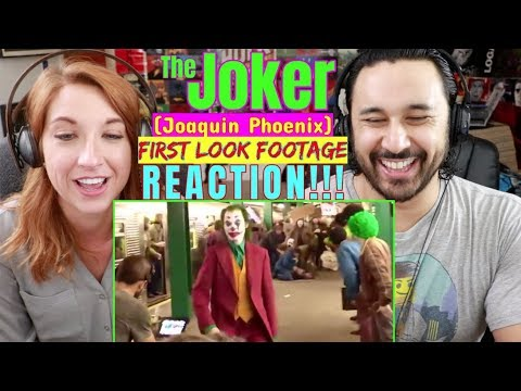 Joker Movie FOOTAGE (Subway) - Joaquin Phoenix REACTION!!!