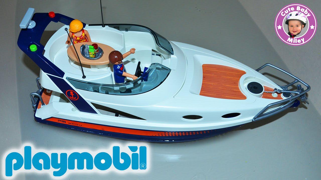 playmobil luxus yacht summer fun 5205 bereit f r die. Black Bedroom Furniture Sets. Home Design Ideas