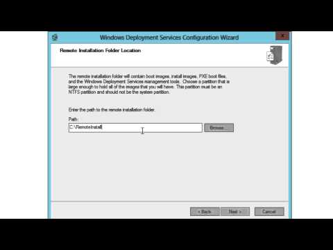 Configure WDS with PXE Boot to Deploy Windows 8.1 with MDT 2013 - Part 11 of 12