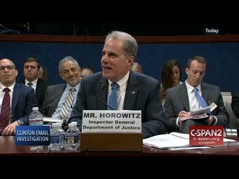 Horowitz reacts to question on Clinton's guilt or innocence