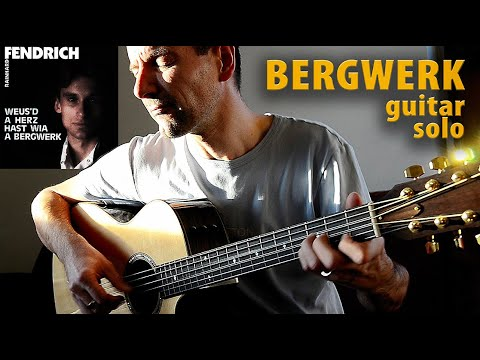 Weus´d a Herz hast wie a Bergwerk LYRICS (KARAOKE) Rainhard Fendrich Acoustic Fingerstyle Guitar