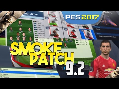 [TTB] PES 2017 - Smoke Patch 9.2 - Massive Additions - New Stadiums, Faces, Boots & More!