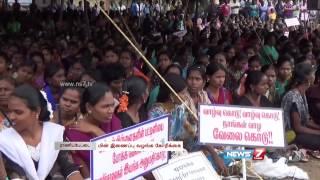 Ranipet workers stage fast seeking to revoke closure orders of 0ver 80 units