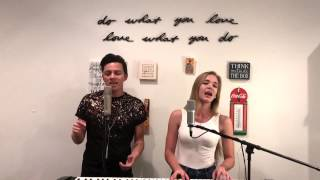 """Too Good to Say Goodbye"" Bruno Mars Cover from ""24K Magic"" by Honey and Jude"