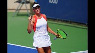 Caroline Garcia vs. Ons Jabeur | US Open 2019 R1 Highlights