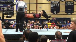 Indy Wrestling Fail  - The Table Won't Break! 9/19/2015