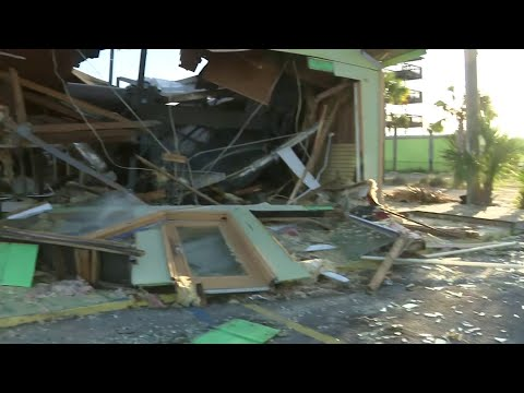 Cleanup just beginning after Hurricane Michael leaves Florida