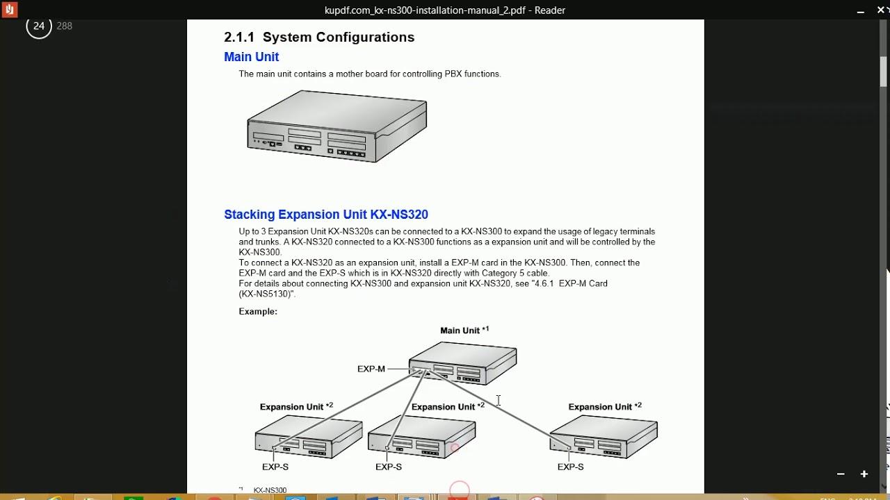 medium resolution of panasonic ns300 configuration
