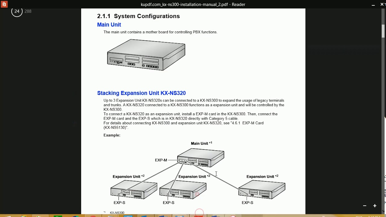 panasonic ns300 configuration [ 1280 x 720 Pixel ]