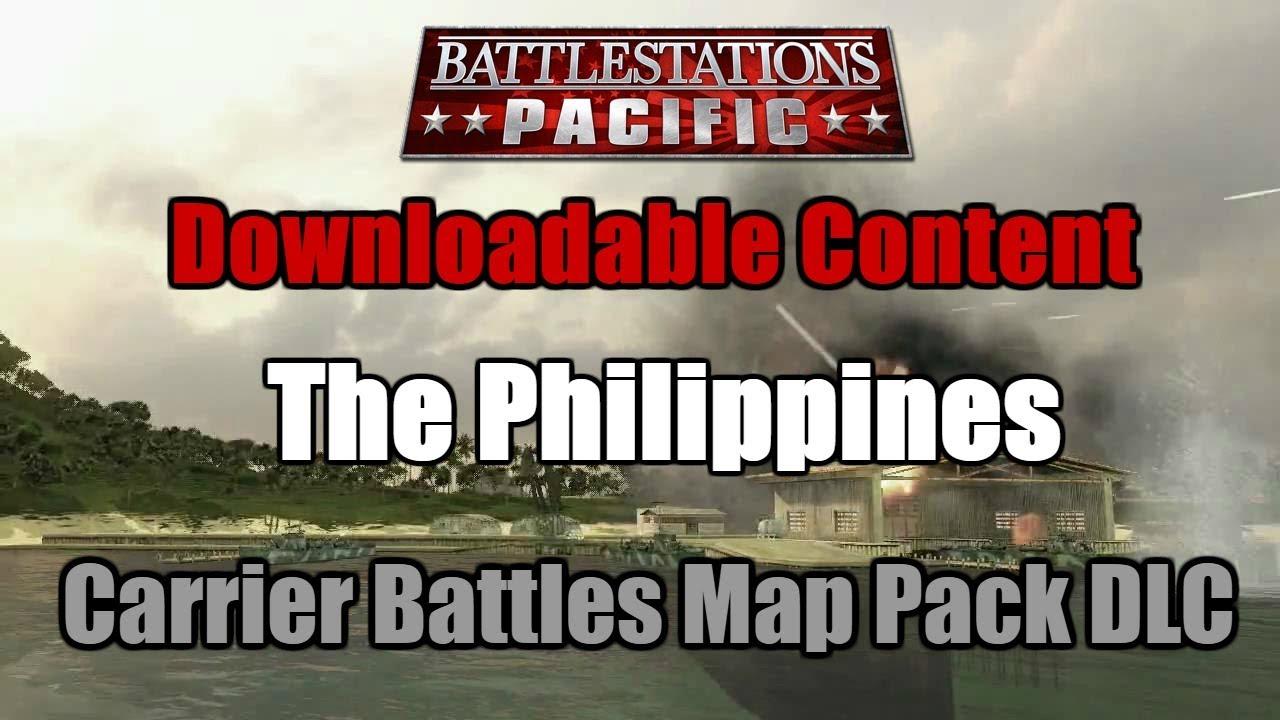 Battlestations pacific dlc: carrier battles map pack.