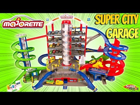 Un Mega Garage Majorette Super City Garage Avec Train Electrique Noel 2019 Duracell